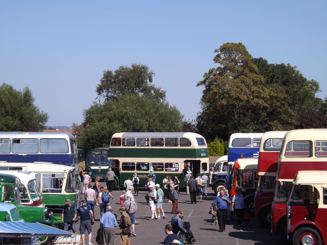 Bus Rally Day at New Romney