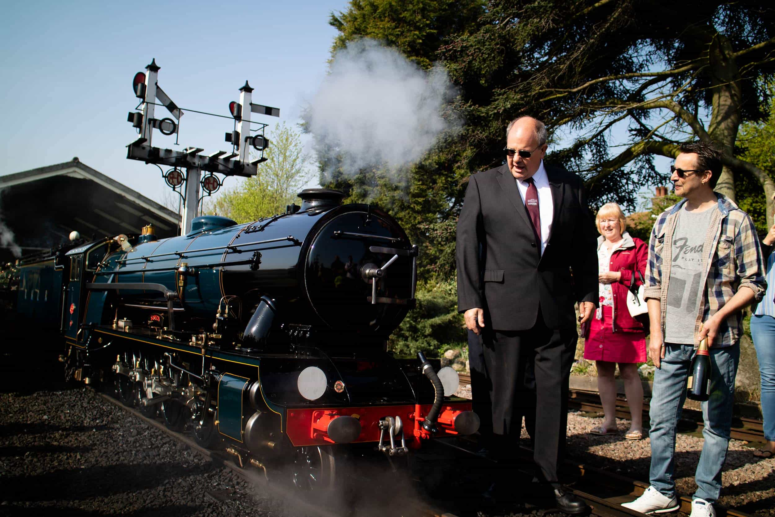 Corporate Events at Romney, Hythe & Dymchurch Railway