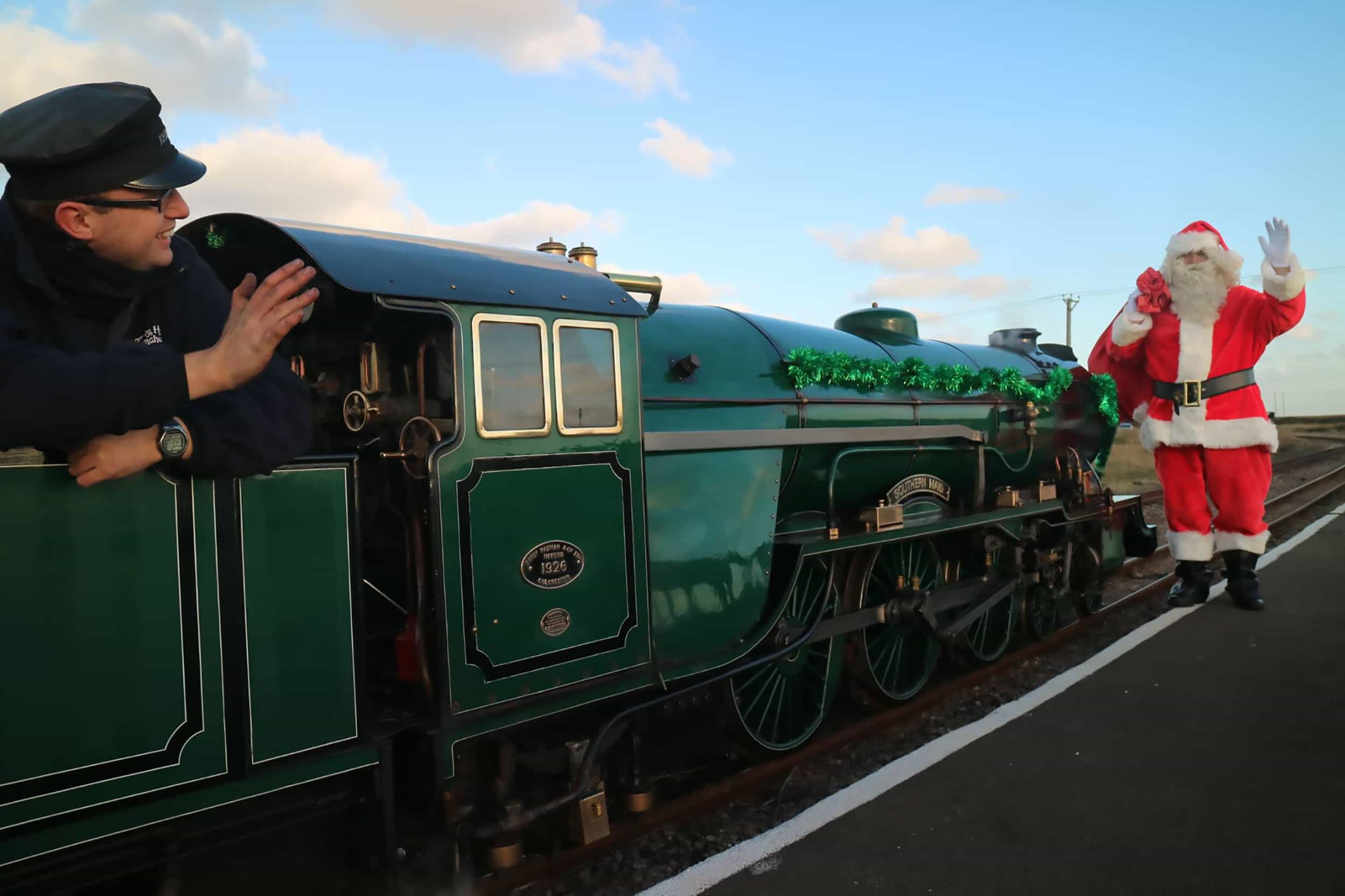 Santa Specials | November to December | Romney Hythe & Dymchurch Railway