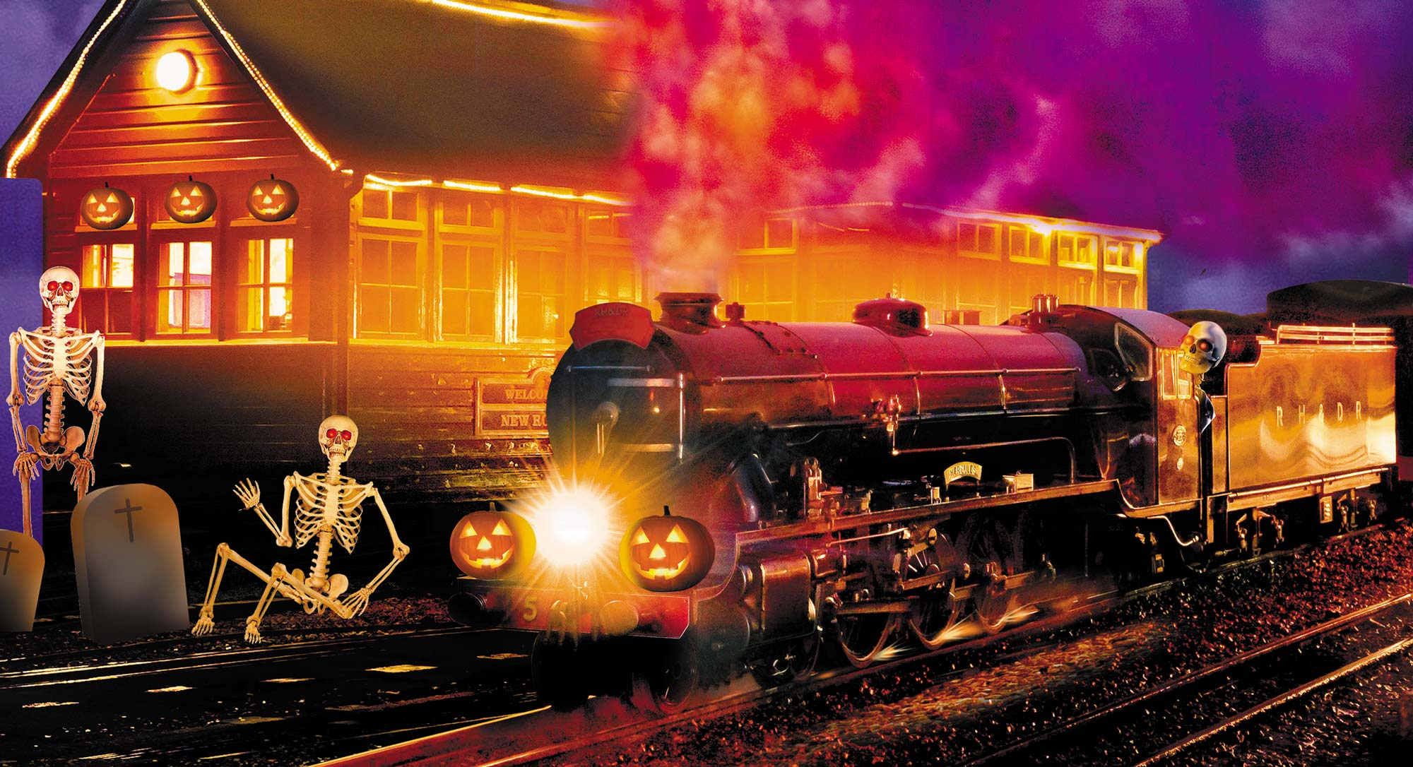 Halloween Spooky Special | Saturday 22nd September | Romney Hythe & Dymchurch Railway