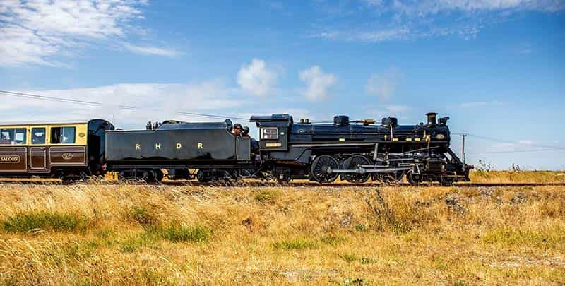 Romney, Hythe & Dymchurch Railway Footplate Experience