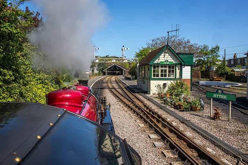 Romney, Hythe & Dymchurch Railway Gold Course Experience