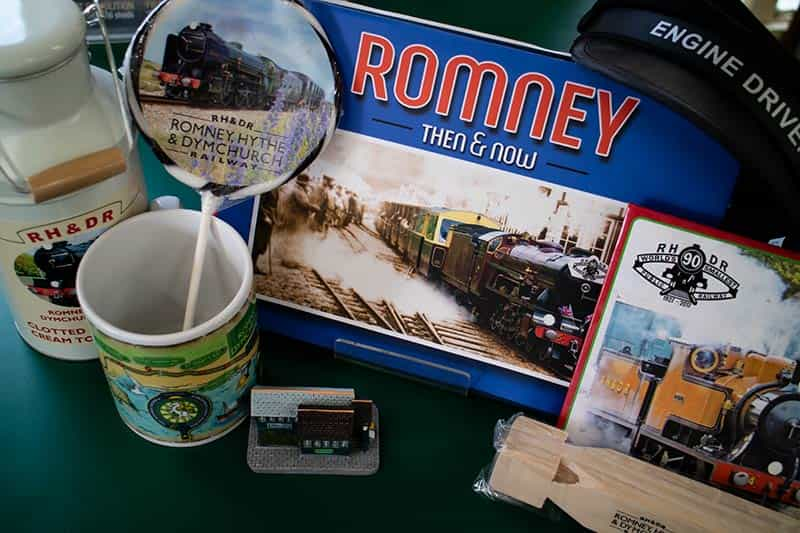 Gifts and souvenirs at Romney, Hythe & Dymchurch Railway