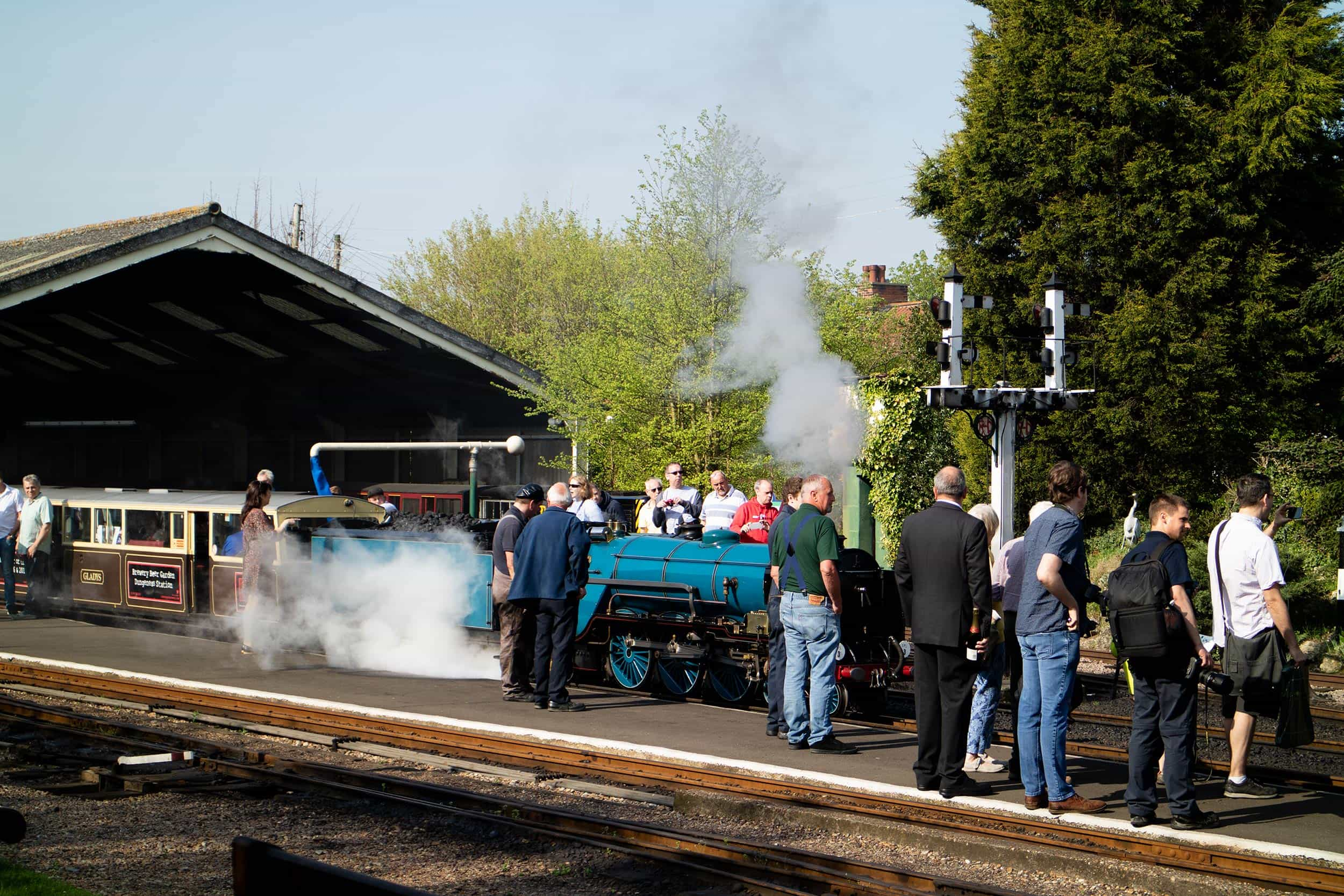 Group visits at Romney, Hythe & Dymchurch Railway