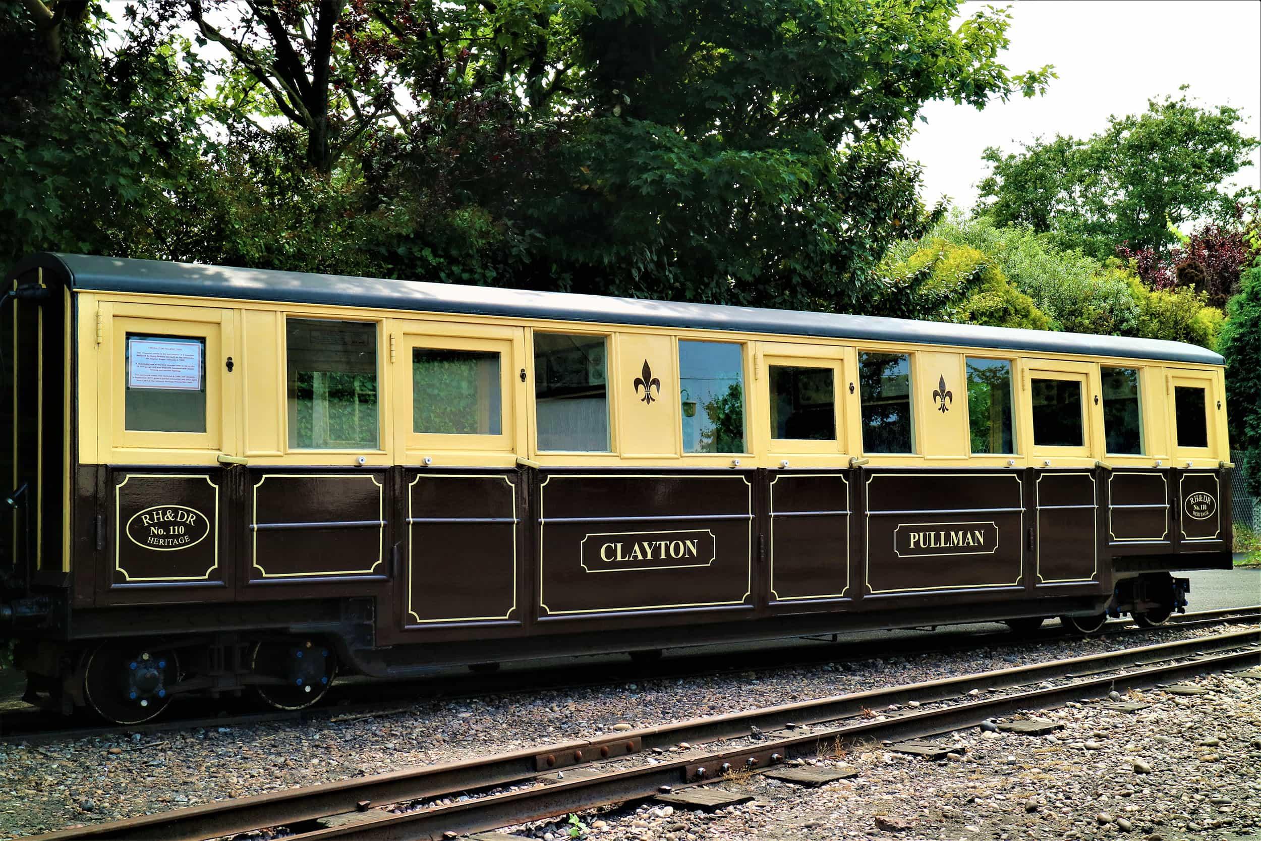 Heritage Carriage - Clayton Pullman - Romney, Hythe & Dymchurch Railway