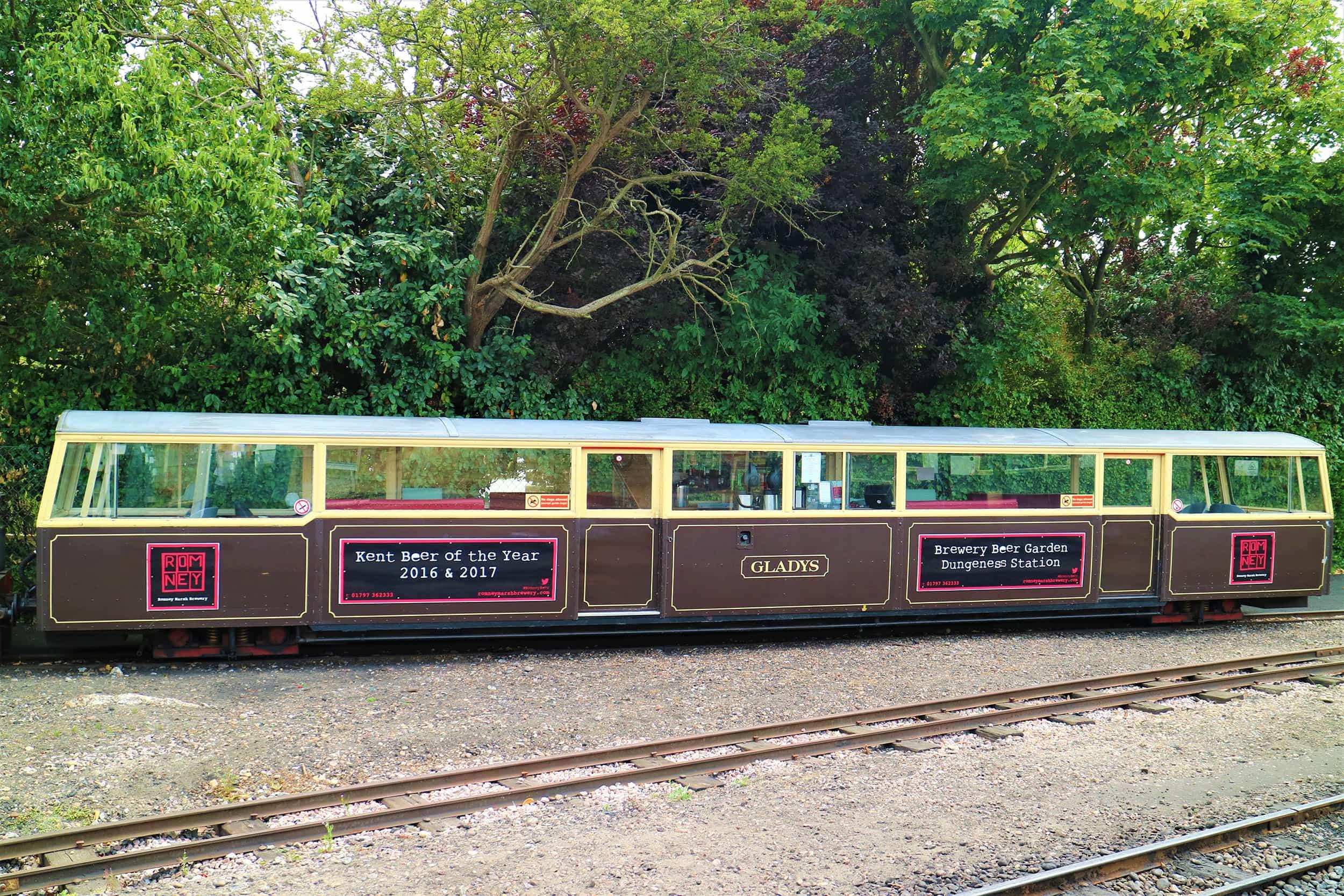 Heritage Carriage - Gladys - Romney, Hythe & Dymchurch Railway