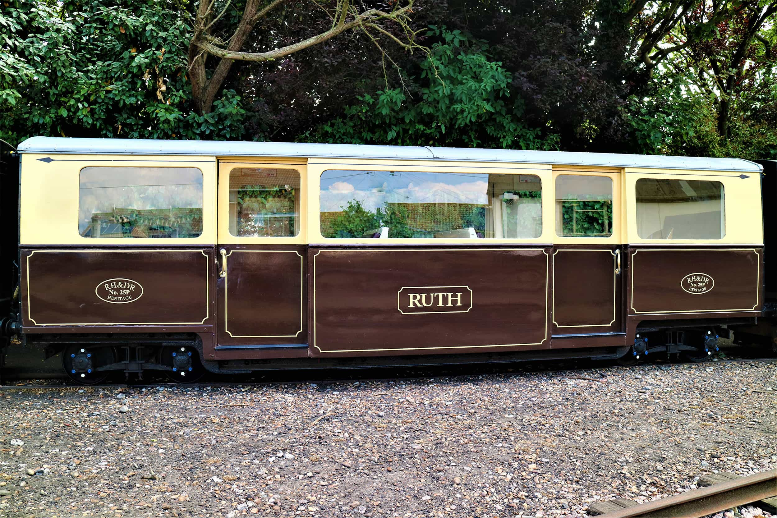 Heritage Carriage - Ruth - Romney, Hythe & Dymchurch Railway