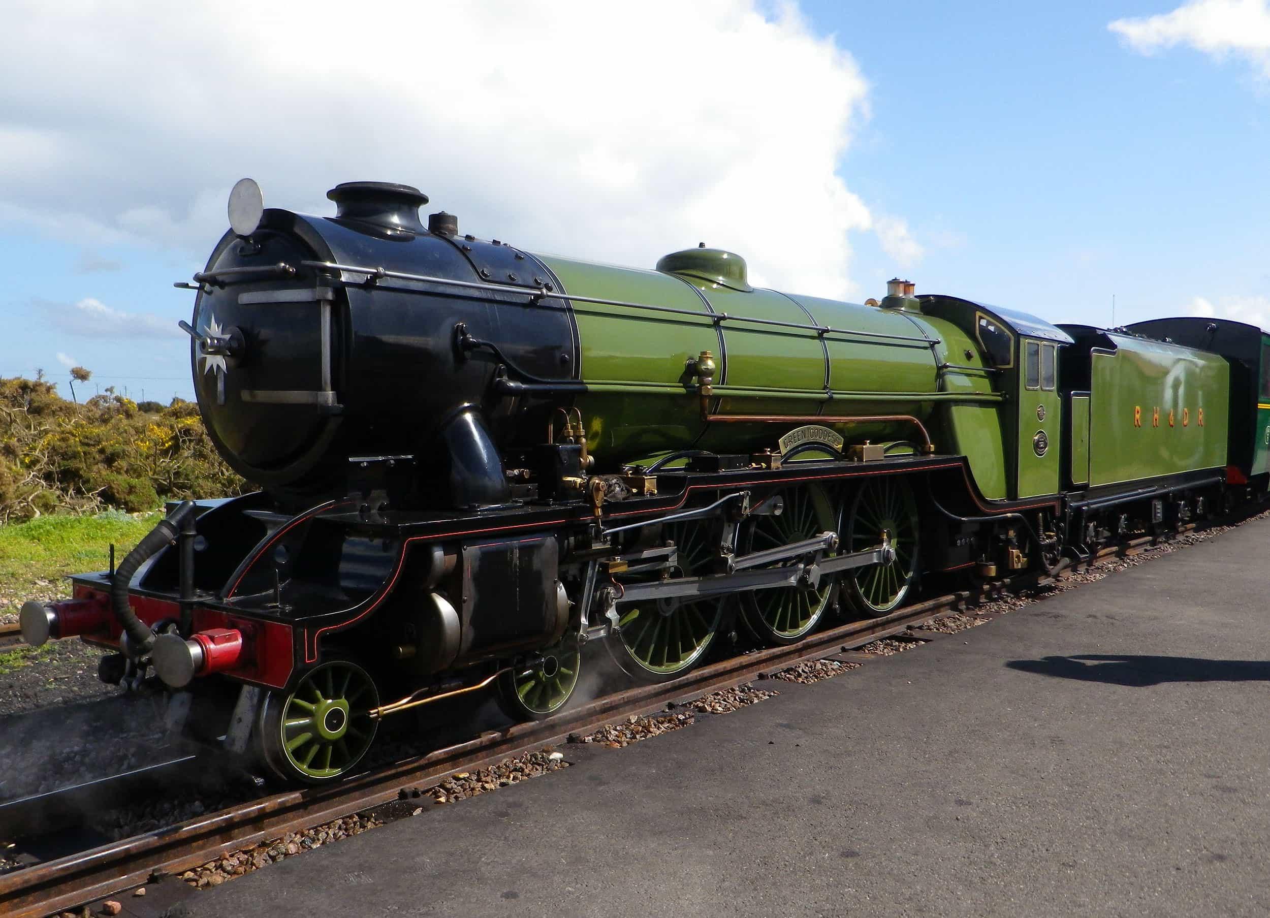 Green Goddess - Romney, Hythe & Dymchurch Railway