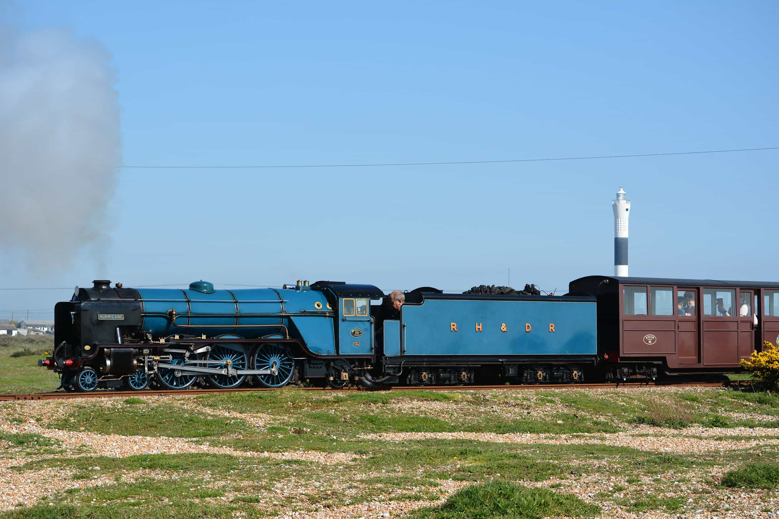 Daily running | April | Romney Hythe & Dymchurch Railway