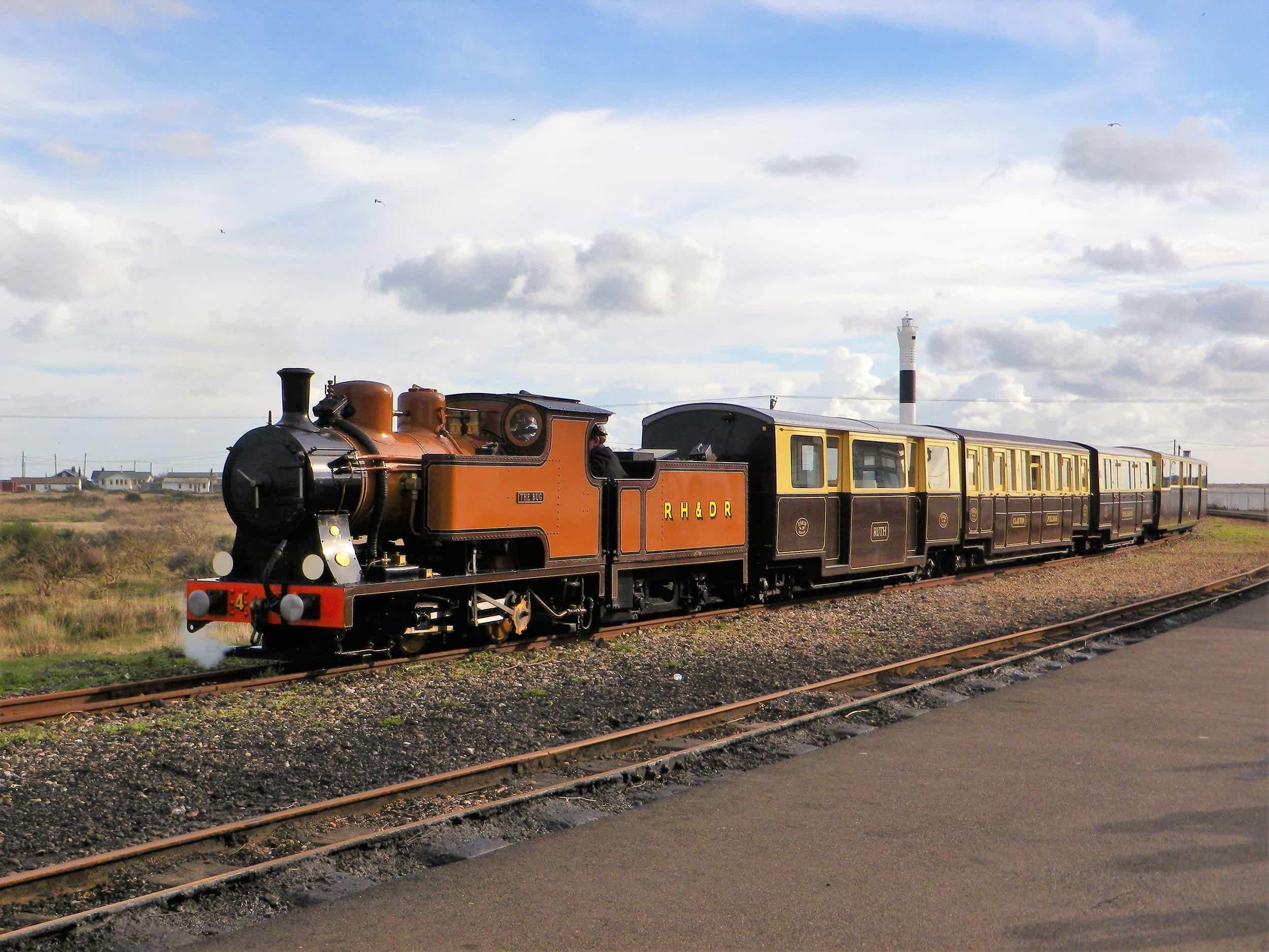 The Bug - Romney, Hythe & Dymchurch Railway