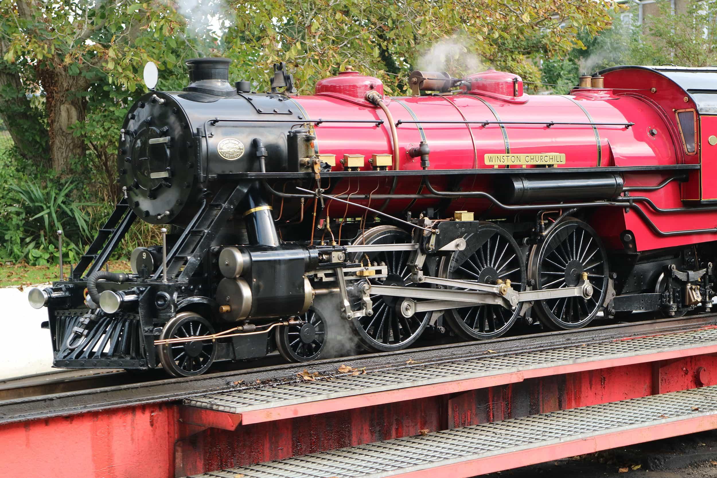 Winston Churchill - Romney, Hythe & Dymchurch Railway