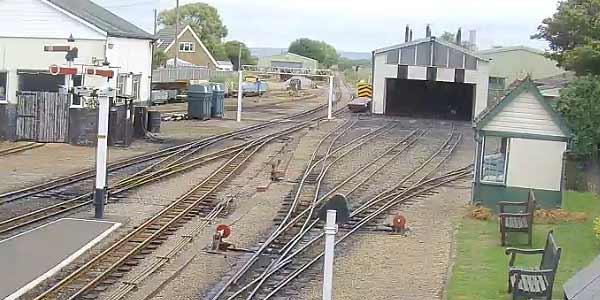 Romney, Hythe & Dymchurch Railway Live Station Web Cam