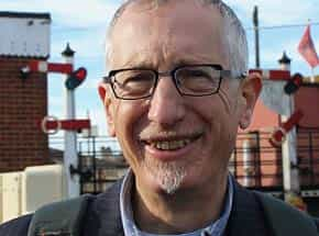 Romney, Hythe & Dymchurch Railway Association Chair Simon Foulkes