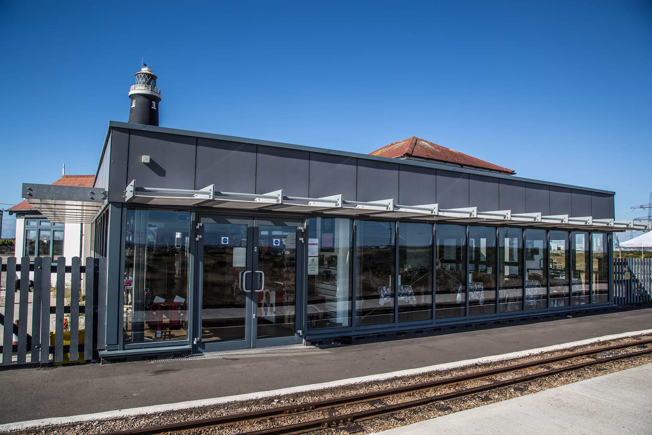 Dungeness | End of the Line Restaurant | Romney Hythe & Dymchurch Railway