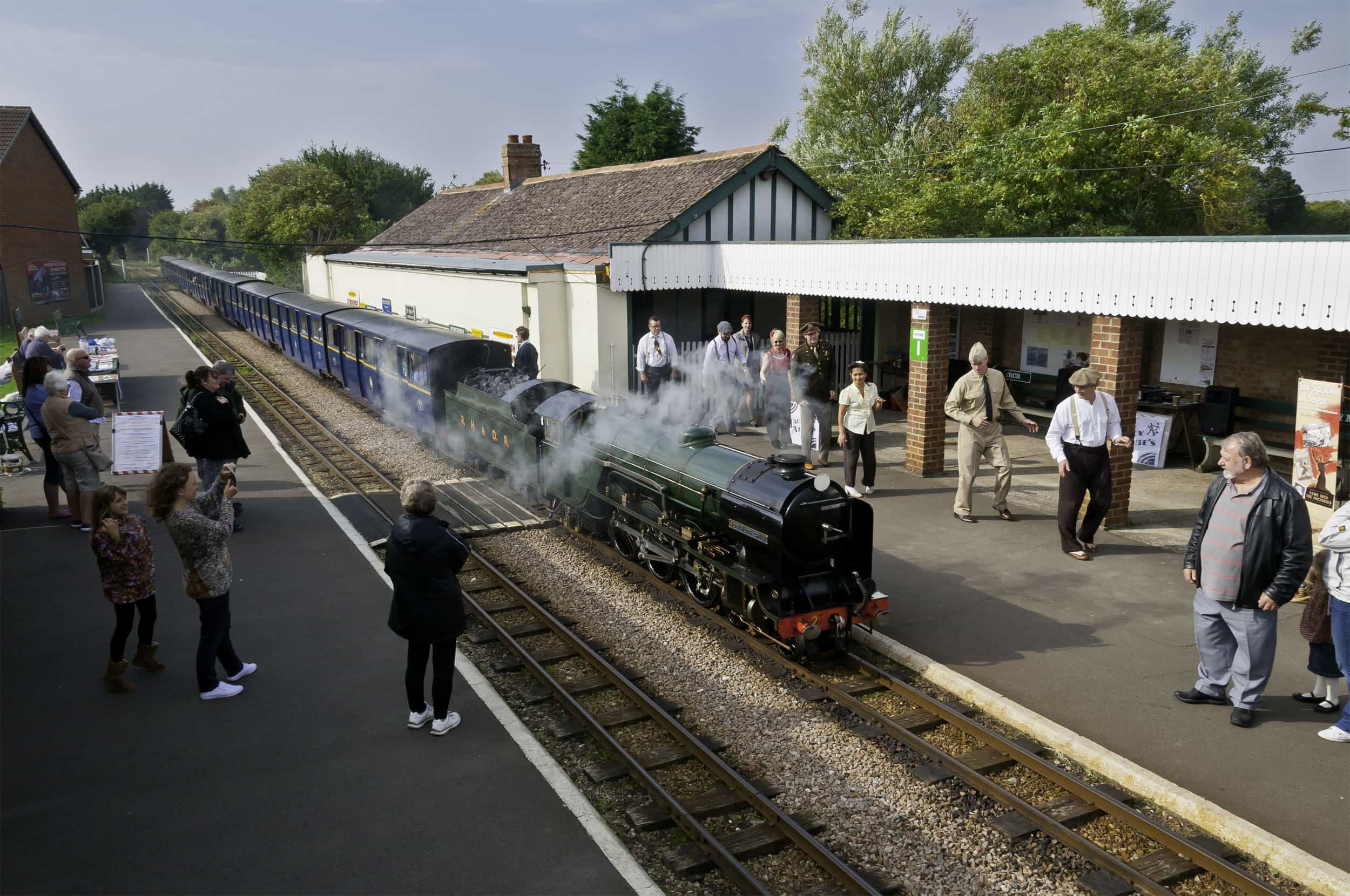 Romney, Hythe & Dymchurch Railway | Dymchurch Station