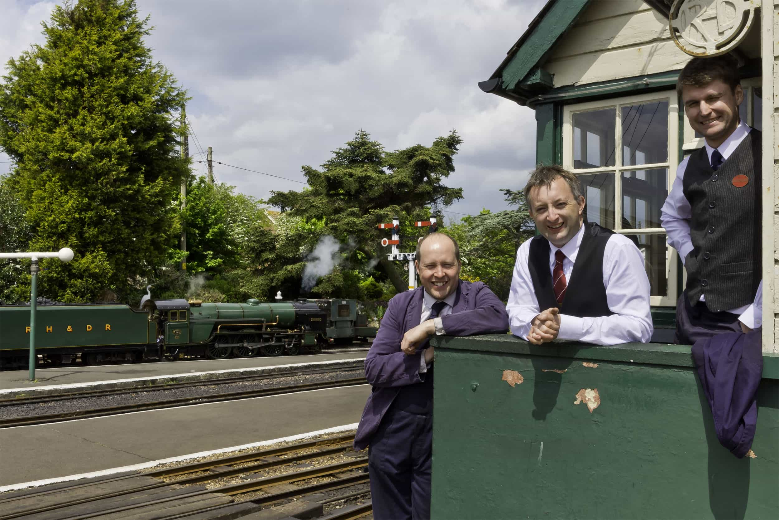 Volunteering at Romney, Hythe & Dymchurch Railway