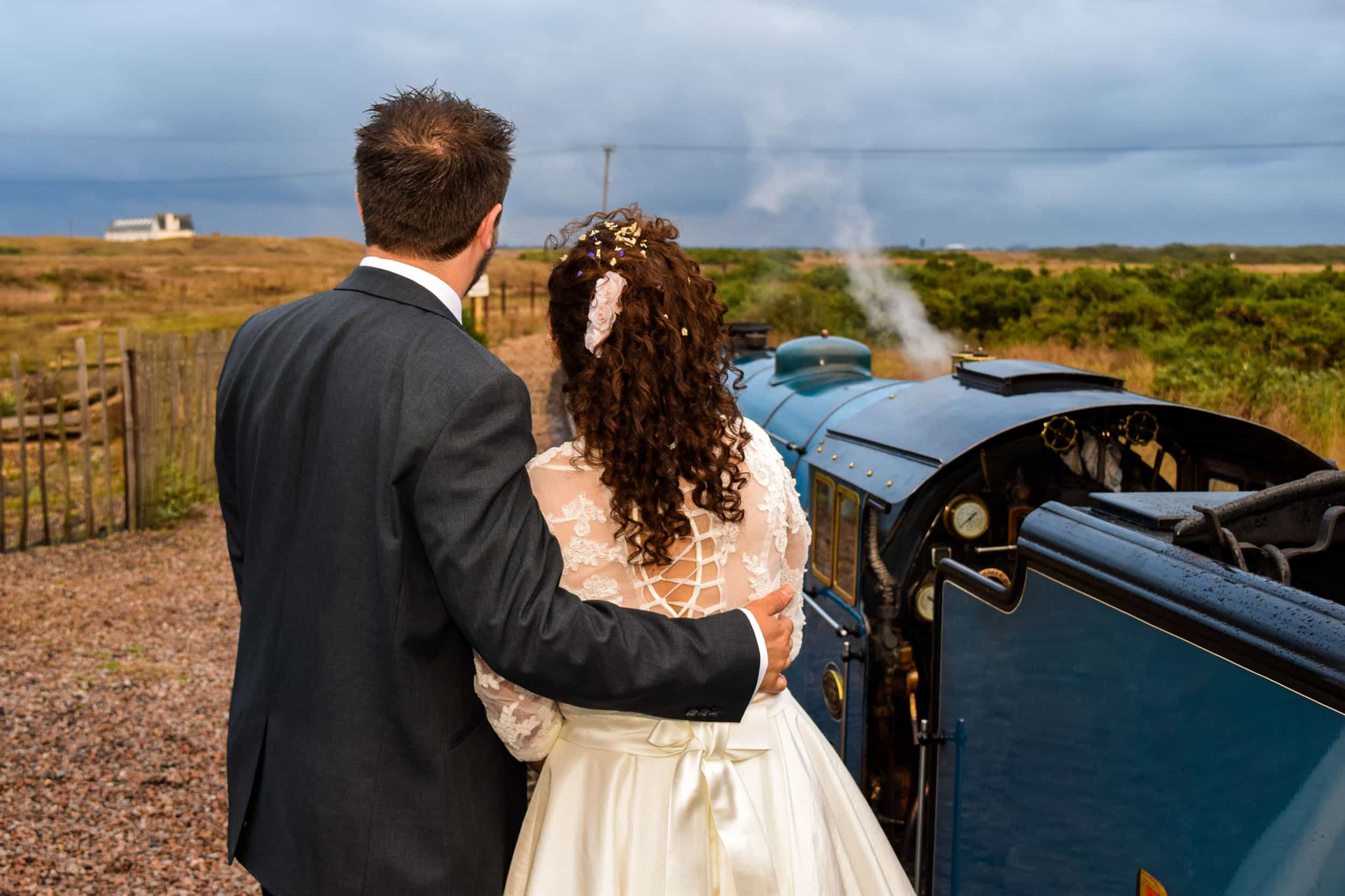 Weddings at Romney, Hythe & Dymchurch Railway