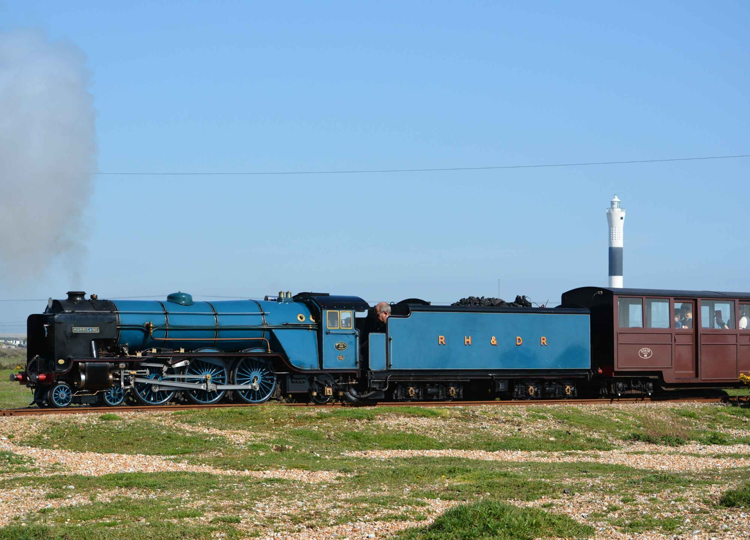 Journeys at Romney, Hythe & Dymchurch Railway