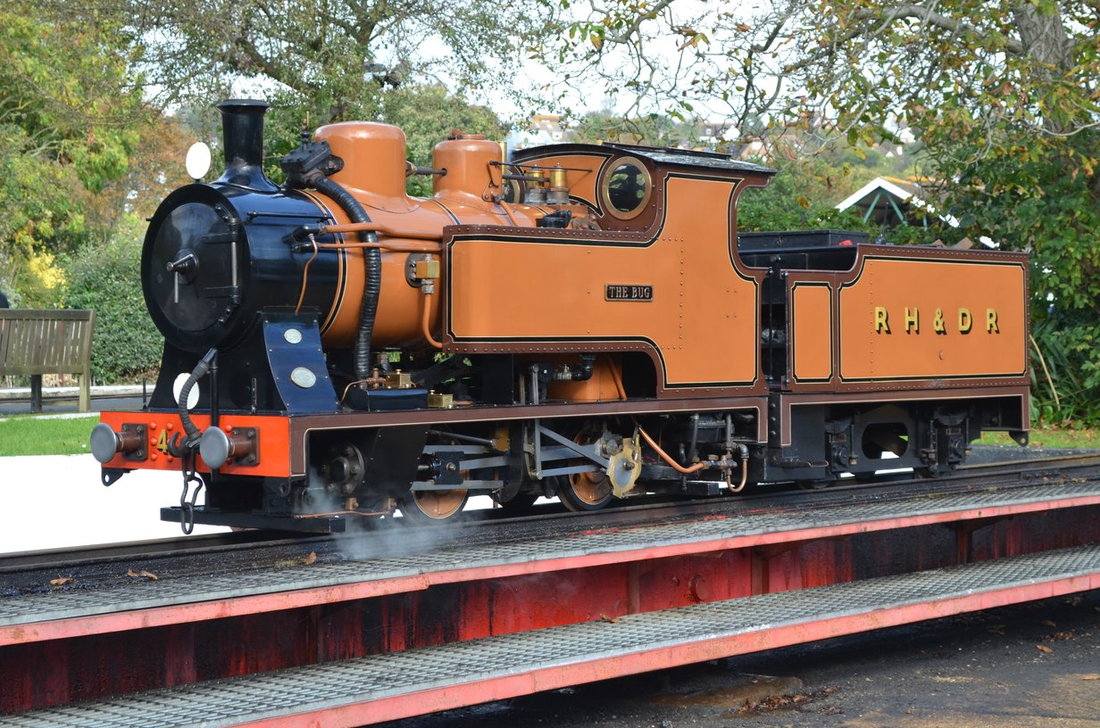 The Bug Club at Romney, Hythe & Dymchurch Railway